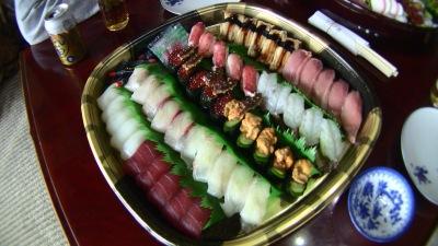 森の石松の寿司