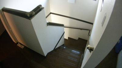 一条工務店の階段手すり追加工事(2階施工前)