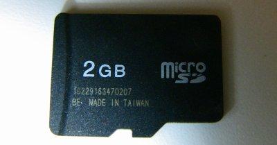 使えなくなるノンブランドのMicroSDメモリカード