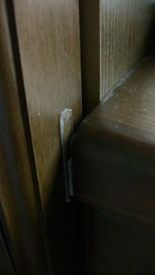 扉とカウンタの干渉