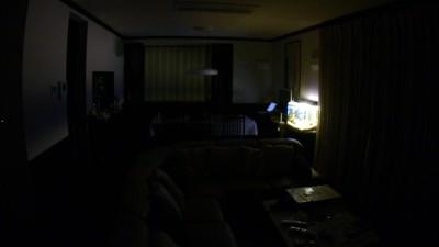 熱帯魚水槽の照明を常夜灯代わりに使用