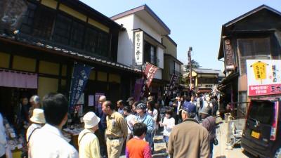 小江戸川越の菓子屋横丁