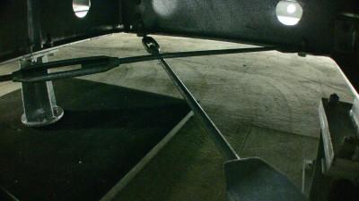 一条工務店の免震鉄骨架台