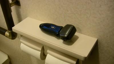 トイレでラムダッシュ
