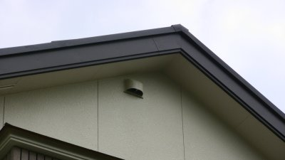 小屋裏物入の換気扇
