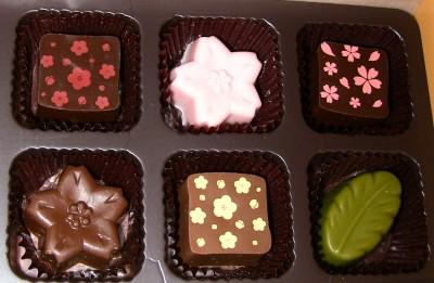 バレンタインでもらったチョコ