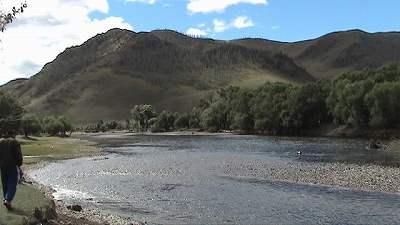 モンゴルの川1