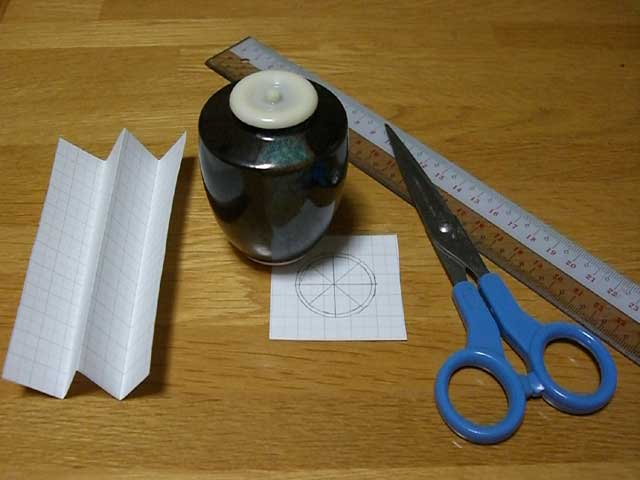 茶入の仕覆の作り方 | 茶の湯のお遊び - 楽天ブログ