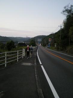 杵築市赤松手前 82km(6.10)