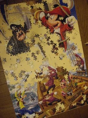 ミッキーパズル