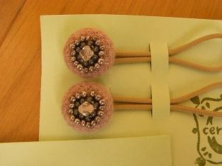 ビーズ刺しゅうヘアゴム ピンク2個組.jpg