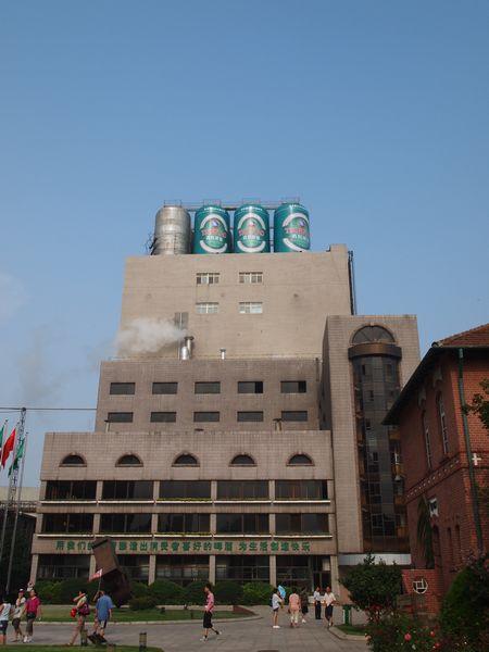 青島ビール工場。