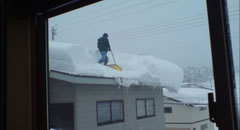 横手の除雪