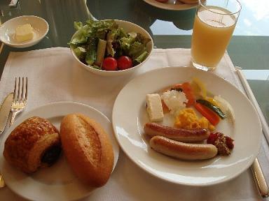 クラブラウンジの朝食8~GH福岡