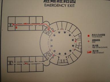 HR福岡616号室配置