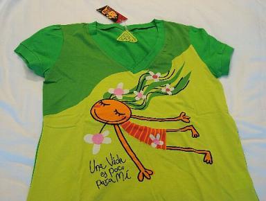 バルセロナで買ったTシャツ