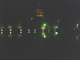 夜景五重塔