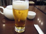 九段下 中華 全家福 ビール