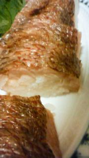 米長さんの天然焼き鯛箱寿司