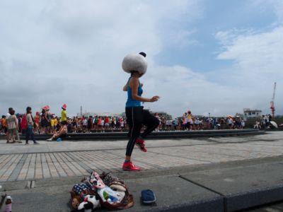 人間塩出し昆布マラソン
