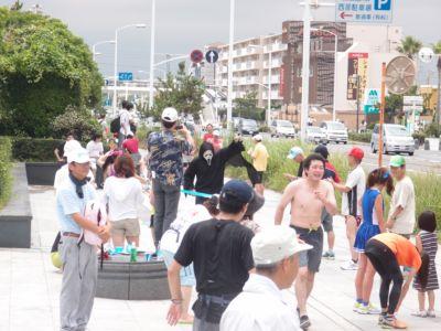 人間塩出し昆布マラソン 江ノ島