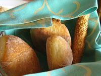 グランブルーのレストランのパン
