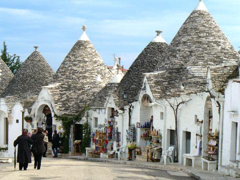 アルベロベッロは小さな町でした