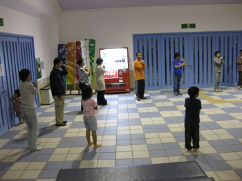 南洋踊り練習会(09/02/14)