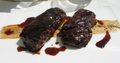 Les rempartsのメイン、牛肉