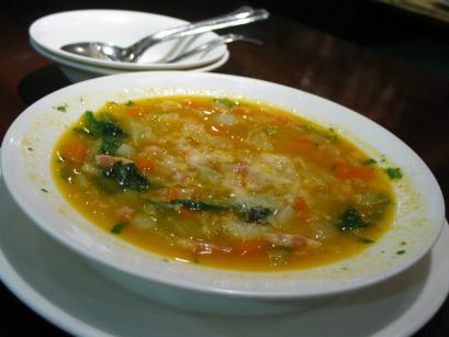La voglia mattaの野菜スープ