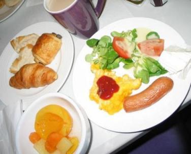 ホリディインバスティーユ朝食