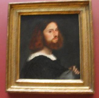 ティツィアーノ肖像画