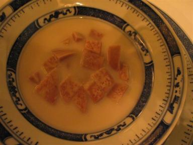 タロイモとココナッツミルク