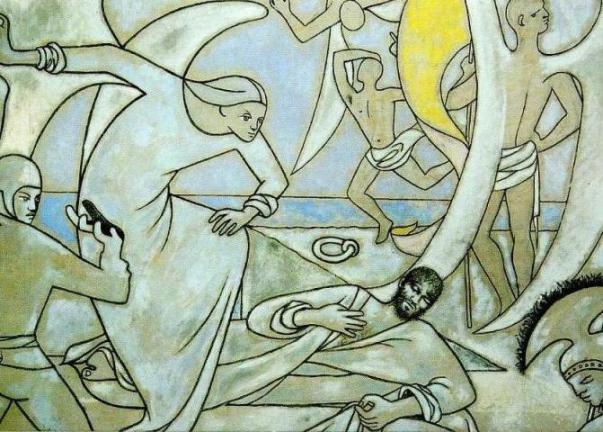 ジャン・コクトー サンピエール教会壁画