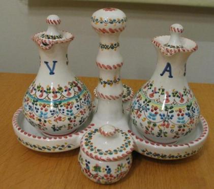 スペインのトレドで買った陶器