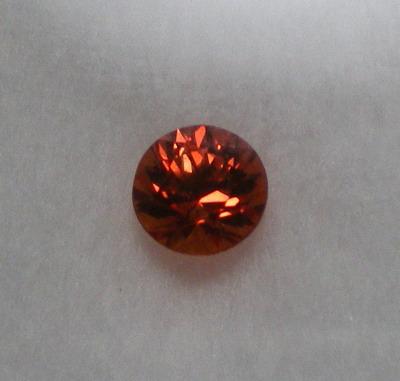 オレンジサファイア 0.628ct.