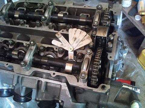 2011.6.22 エスエンジン・・・ 014(タペットクリアランス再計測)
