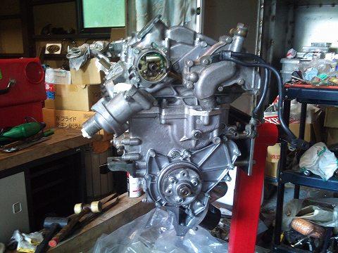 2011.6.22 エスエンジン・・・ 020(エンジン完成♪1)
