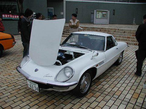 2010.3.21 『疾走する日本車』 at 福井県立美術館 018(個人展示のコスモスポーツ F)
