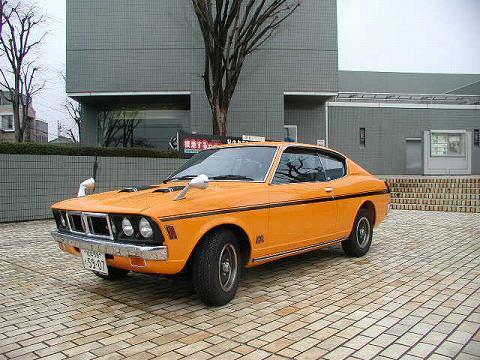 2010.3.21 『疾走する日本車』 at 福井県立美術館 020(個人展示のギャランGTO-MR)