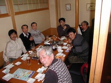 2009.12.12 ローカルホンダツインカム忘年会in福井 001(『魚民』会場)