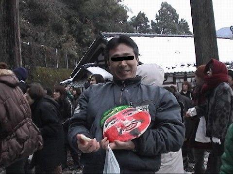 2010.1.9-15 餅撒き&大雪 014(Z改めFZ@京都さん)
