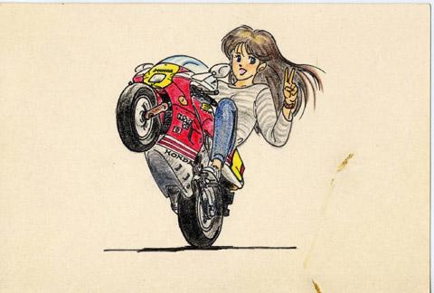 '88型NSR50(イラスト)