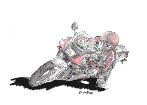 2007 年賀状原画(我が3MA)