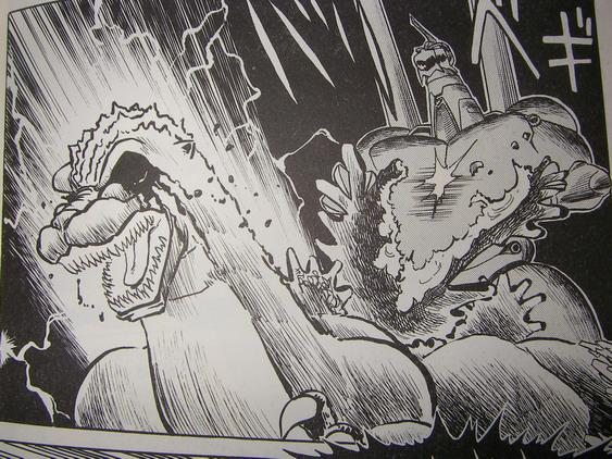 目を潰され首が千切れゴジラが死ぬ!坂井孝行版「ゴジラVSメカゴジラ」空前の怪獣バトルの結末は?