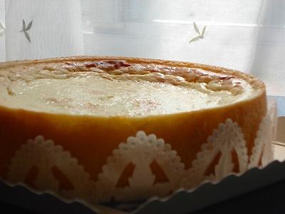 がらがらどんチーズケーキ