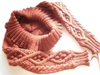ヨーロッパの手編みマーガレット