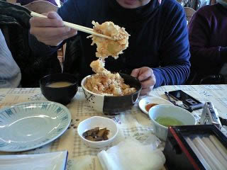 かきあげ丼