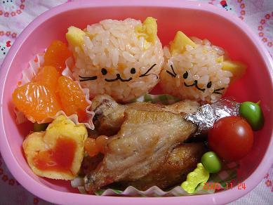 ねこちゃんのお弁当