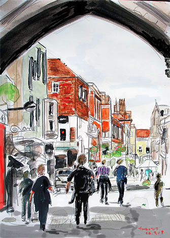 Salisbury High Street Gate